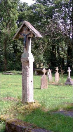 Church yard cross