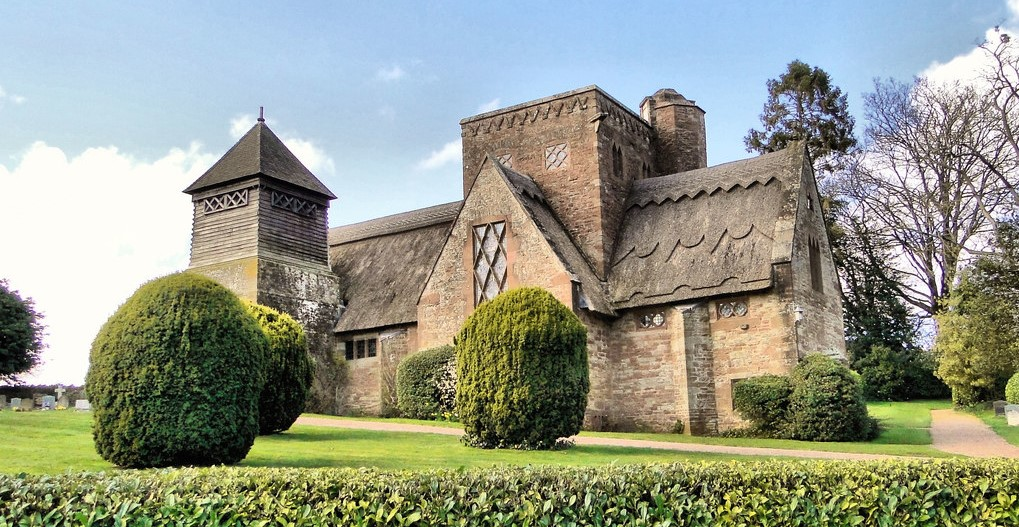 All Saints Church, Brockhampton
