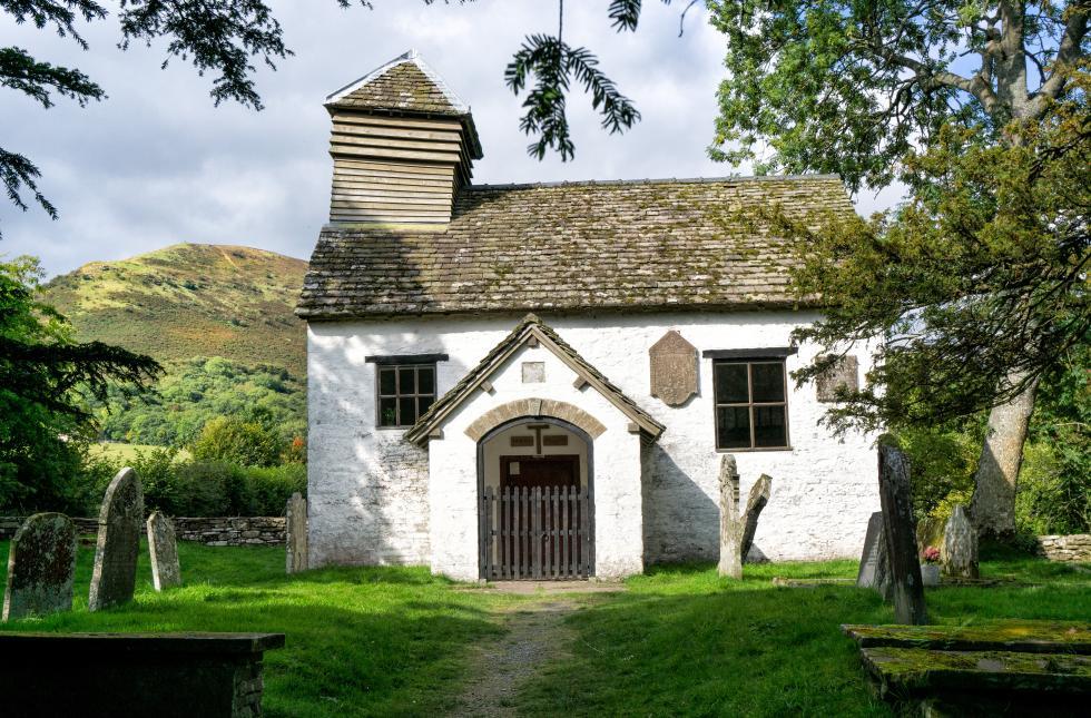 St Mary the Virgin church, Capel y Ffin, Powys