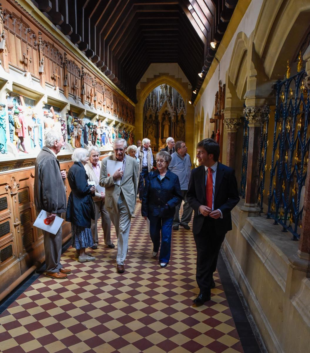 Friends' Tour of St Augustine's Church, Ramsgate