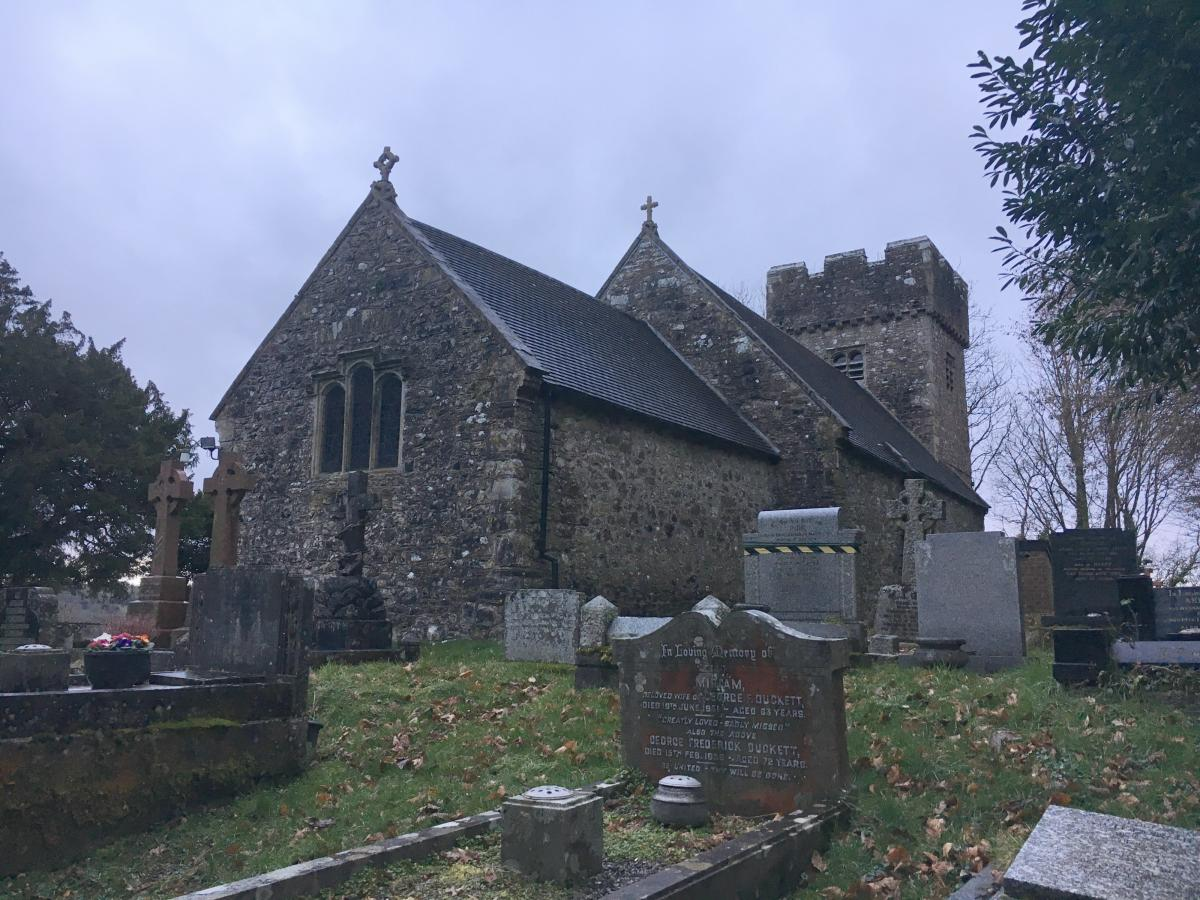 Llanilid church exterior