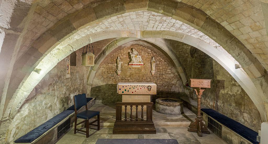 St Olave church crypt
