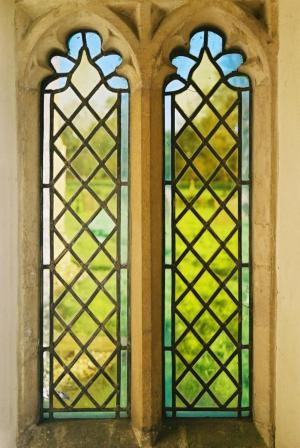 Norfolk, Little Massingham, Window